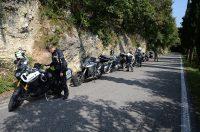 Auffahrt zum Monte Grappa